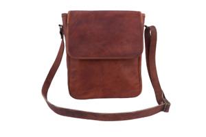 "11"" Leather Crossbody Bag iPad/Tab Messenger Bags Handbag Satchel Sling Bags"