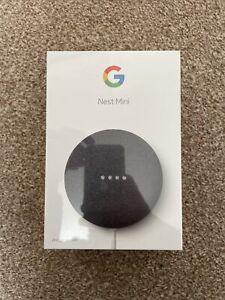 GOOGLE Nest Mini 2nd Generation - Charcoal - Brand New in Box