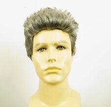 Perruque homme 100% cheveux naturel poivre et sel ref ALBERT 44