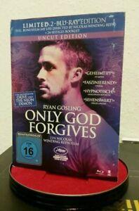 ONLY GOD FORGIVES Limited Uncut Edition BluRay Mediabook Winding Refn Bonusfilm