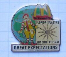 M / RONALD / FLORIDA PLASTICS INTERNATIONAL .............Mc DONALD`s -Pin (122i)