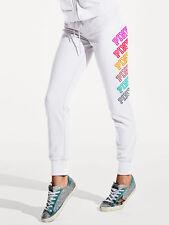 Pink By Victoria's Secret GYM Pants Graphic NWT Medium