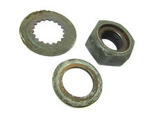 1977 BOMBARDIER 77 CAN-AM QUALIFIER 175 - ENGINE DRIVE SPROCKET NUT AND WASHERS
