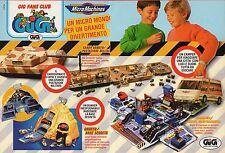 Pubblicità Advertising Werbung 1993 GIG MicroMachines Bunker/Camper