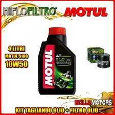 KIT TAGLIANDO 4LT OLIO MOTUL 5100 10W50 TRIUMPH 800 Bonneville T100 (Centennial