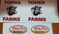 TONKA TRUCK FARM STAKE TRUCK 58-61 DECAL SET