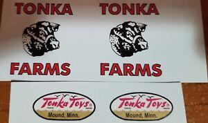 TONKA TRUCK FARM STAKE TRUCK 58-61 DECAL SET