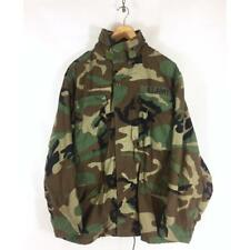 Vintage M65 Field Camo Jacket - Mod U.S Military Army – Camouflage Green -S M L