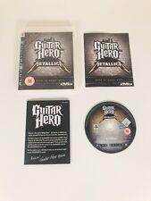 Guitar Hero Metallica PS3 *in Excellent Condition* 🎸