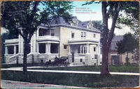 1908 Postcard: Residence of Harry Sinclaire - Independence, Kansas KS