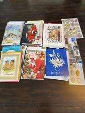 Huge Lot of Misc Holiday Cards, Birthday, Thank You, Sympathy, etc. - 53 Cards
