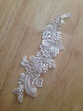 Vintage Lace Bridal Trimmings Venise Applique Motif Flowers Ivory Bracelet
