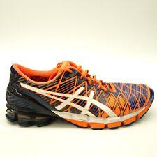 Asics Mens US 11 EU 45 GEL-Kinsei 5 Orange Blue Running Training Shoes