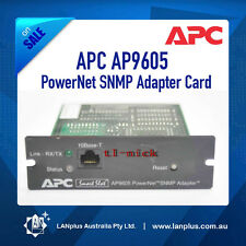 APC AP9605 PowerNet SNMP Adapter Card for APC UPS 700 1000 1400 1500 800 2200