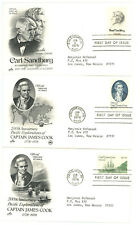FDC LOT OF 27 -1978 COMMEMORATIVES - 1731 TO 1737A, 1742A TO 1769