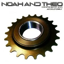 "N&T 22T 34mm 1/2"" x 1/8"" Brown BMX Freewheel Bicycle Single Speed Cog Sprocket"