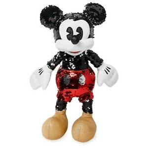 Disney Mickey Reversible Sequin Plush Small Special Edition New with Tag