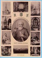 France, Mattaincourt, Saint Pierre Fourier, basilique  Vintage silver print,