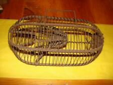 1860S Primitive Wire Cage Trap Rodent Critter; Early Cage