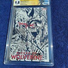 RETURN OF WOLVERINE # 1 11/18 CGC 9.8 McFarlane Homage Sign by Todd McFarlane