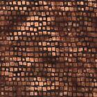 Hoffman Blender Bali Batik - Brown Square Stripe #S2355-6