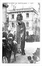 CPA ESPAGNE BARCELONA GEGANTS DE BARCELONA 1910