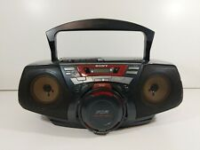 Sony Cfd-G50 Power Drive Woofer Boombox Cd Tape Deck ( Cassette Does Not Work )
