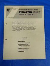YASKAWA YASNAC MX1 CNC OPERATOR MANUAL TOE-C843-7.30B