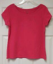MADISON Organic Cotton Rich Summer Pink Shirt Ladies L -  Comfortable