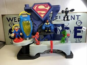 Imaginext DC Super Friends Superman Fortress of solitude Playset 2013 Lot Of 5