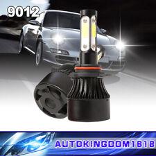 4-Sides 9012 Cree LED Headlight Kit Car HIR2 Low Beam 400W Fog light Bulbs 6000K