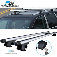 48 Inch Cross Bar Crossbar Adjustable Clamps Roof Rack Luggage Cargo Carrier
