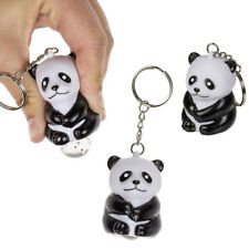 Un porte clés panda qui fait caca des paillettes - Squeeze pop fart animal