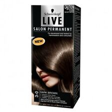 Schwarzkopf Live Salon 3.0 Dark Brown Intensive, long-lasting colour