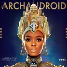 The ArchAndroid by Janelle Monáe, Janelle Monae CD Fast Shipping