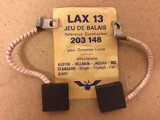 Set of Brushes (Coal) Lax 13, For Dynamo Lucas 203 148 Austin-Jaguar-Mg