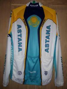 TREK ASTANA Long Sleeved Cycling Jersey L 54cm NWT Contador BONTRAGER