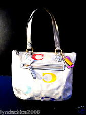 Coach Poppy Signature Tote Shoulder Bag #23521 ***BRAND NEW WITH TAGS***