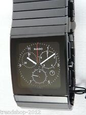 Rado Ceramica XXL Chronograph Schwarz R21715162 NEU + OVP
