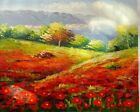 Handmade 100% Painted Abstract Oil Painting Art On Canvas FREE SHIPPING