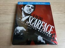 Scarface Steelbook (Blu-ray Disc) Complete with collectible cards Near Mint