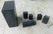 Samsung Komplett Speaker System Surround Anlage mit Subwoofer /Kabel TOP-Zustand