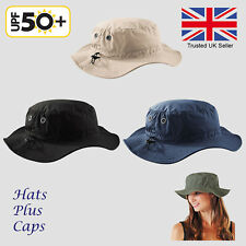 UPF 50+ Sun Hat Bucket Cargo Safari Bush Boonie Summer Fishing Hat 5 Colours