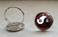 925 Sterling Silver Adjustable Ring Wing Chun Kung Fu Martial Arts MMA