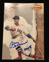 BOBBY DOERR 1994 TED WILLIAMS Autographed Signed AUTO BASEBALL Card 3 RED HOF