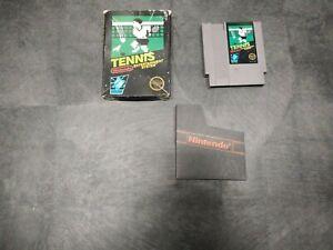 Tennis (Nintendo Entertainment System, 1985) in box!
