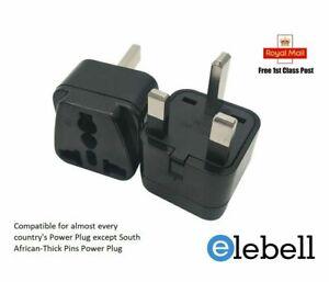 Indian plug to UK Plug Converter   US AU China EU to UK Travel Adapter 10 Amp