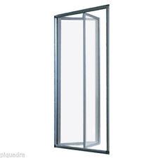 Box doccia nicchia 90 87/91 porta a Libro soffietto cristallo 5 mm trasparente