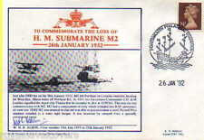 HMS M2 NAVY SIGNED 1992 SUBMARINE 60TH ANNIVERSARY OF THE LOSS