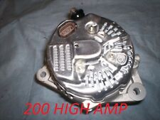 ALTERNATOR TOYOTA SUPRA 1993 1994 1995 1996 1997 1998  Manual 3.0L 200  high Amp